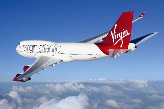 Virgin Altantic 747
