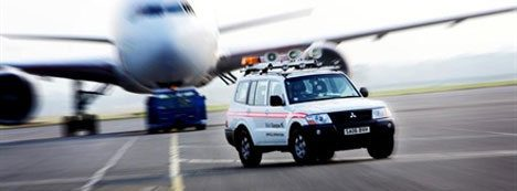 glasgow-airport-safety-car