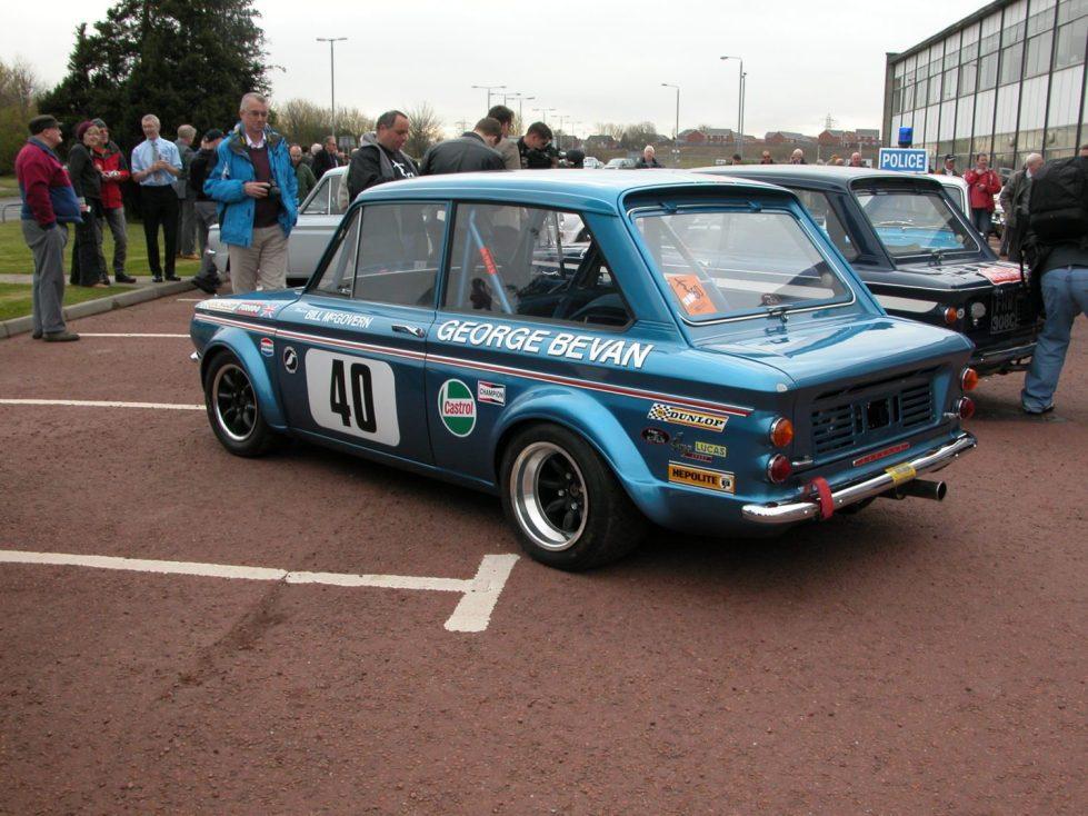 Hillman Imp Linwood Rally