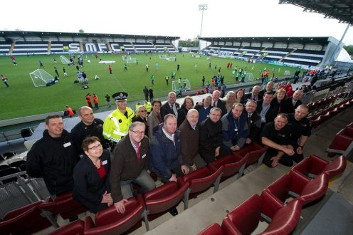 Street Stuff football festival councillors and council partners