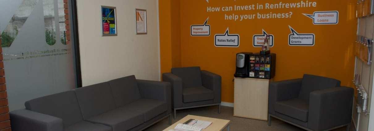 Invest in Renfrewshire business hub