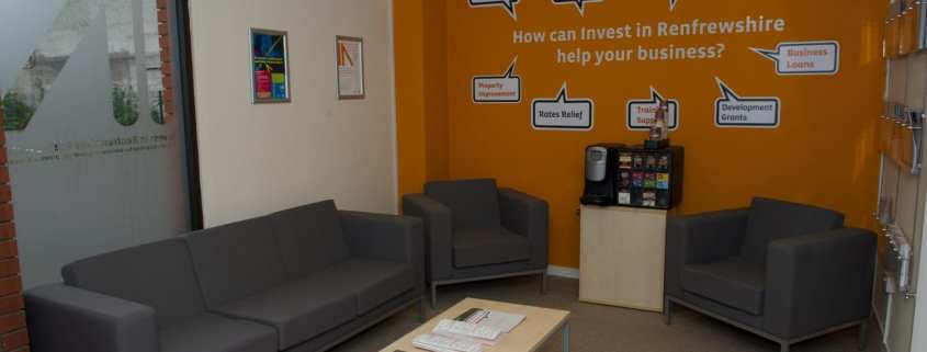 Invest in Renfrewshire business hub