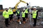 New Johnstone town hall praised as building work starts