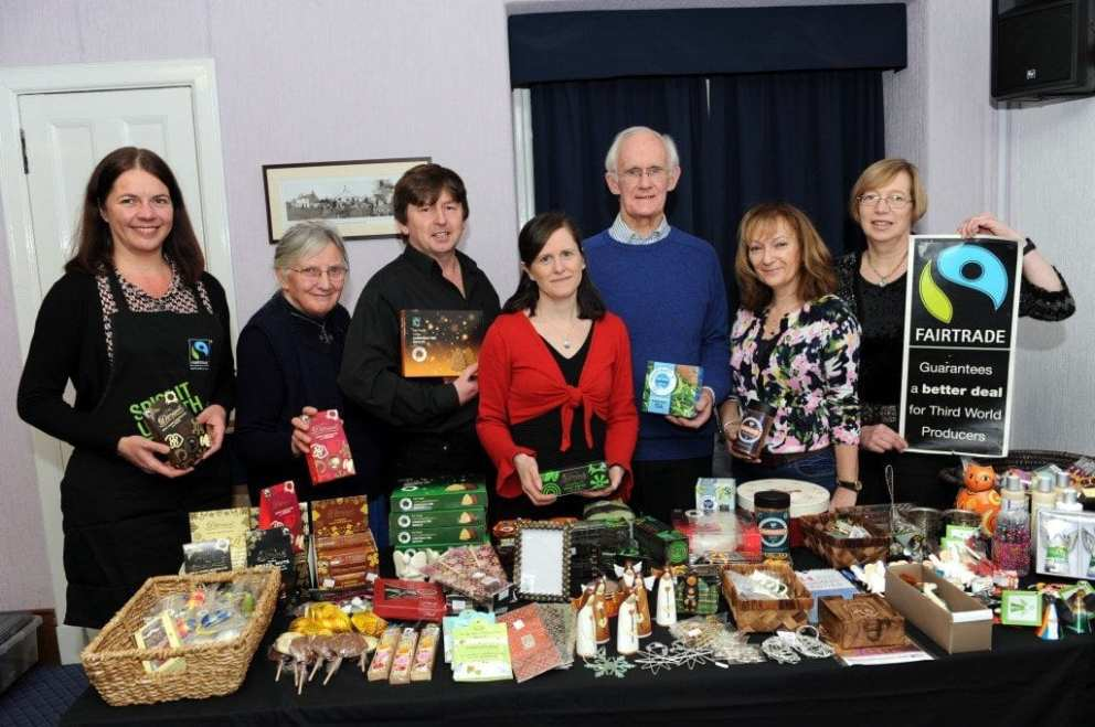 Pic 1 - Kilbarchan Fairtrade Steering Group