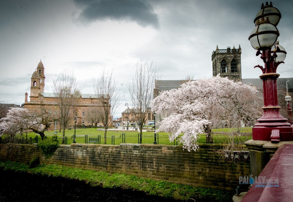 paisley abbey - town hall