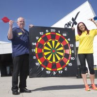 Darts star aims to prove a point at The ON-X