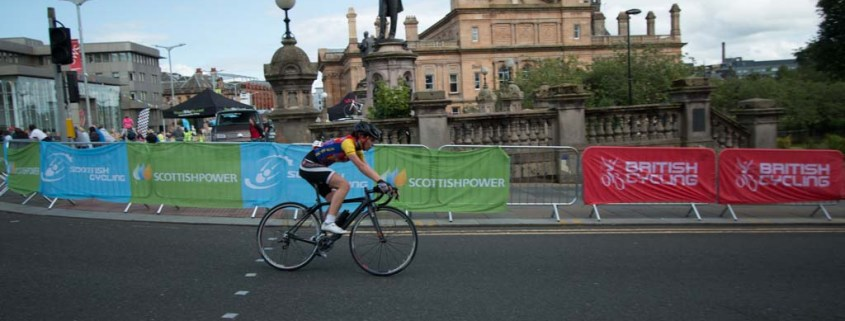 The British Cycling Youth National Circuit Race Championship Paisley 2015