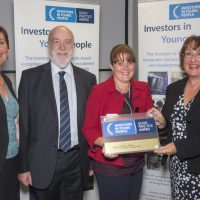 Top award for Kibble's work with young people