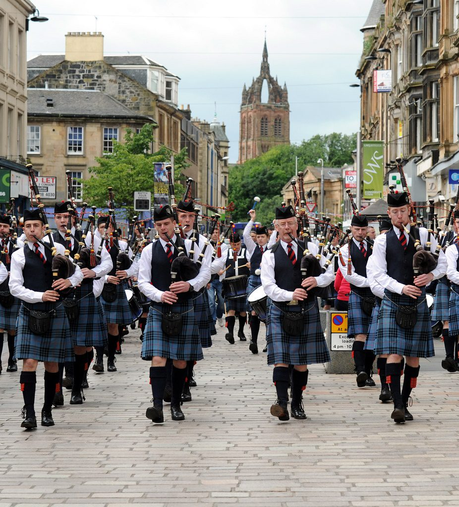Pipe Band 55