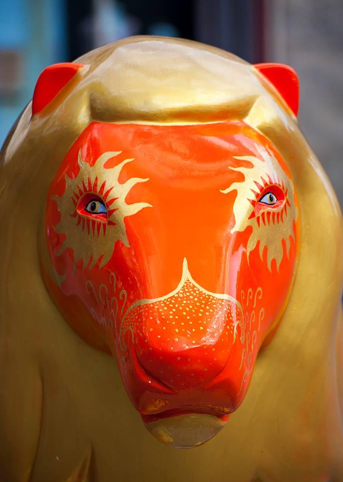 Sun Lion Courtesy of David Muir
