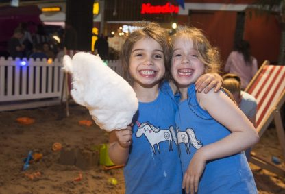 Zara Kelly, aged five and her six-year-old sister, Zoe, from Paisley
