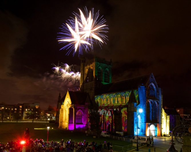 Paisley Fireworks 4.11.17