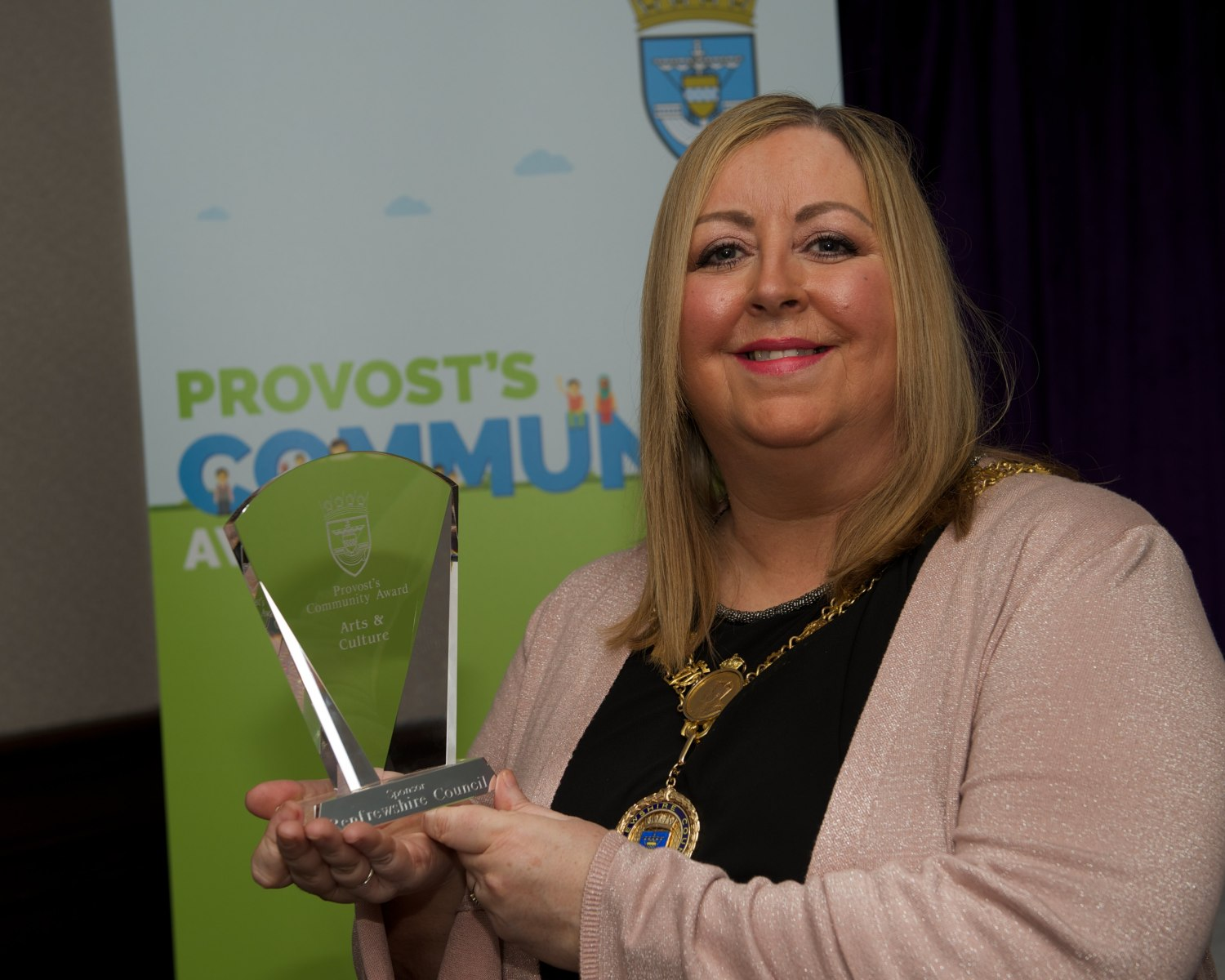Renfrewshire Council Provost awards 9.3.18