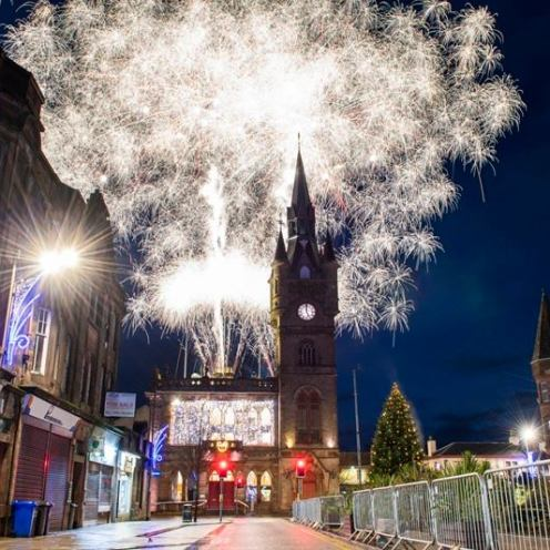 renfrew christmas lights