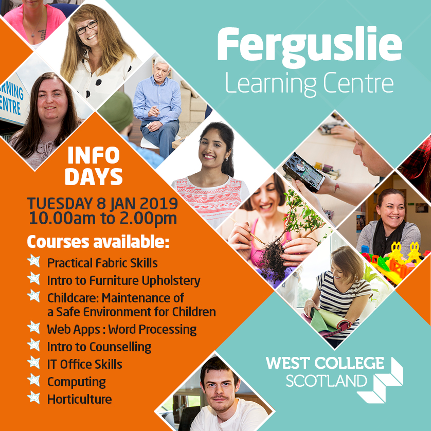 Ferguslie Learning Centre - Info Day - Social Media