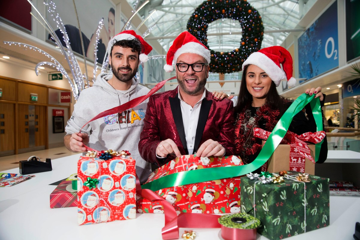 Britain's Got Talent star has Christmas all wrapped up for children's hospice charity