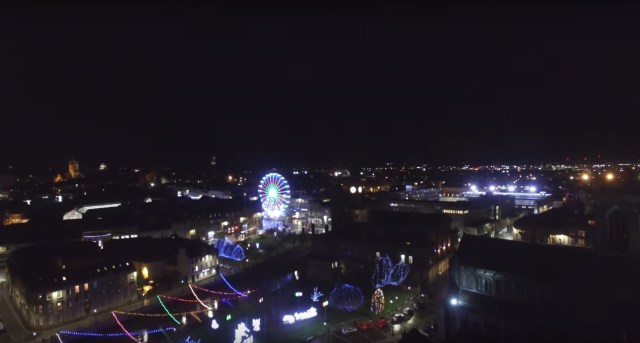 paisley drone footage