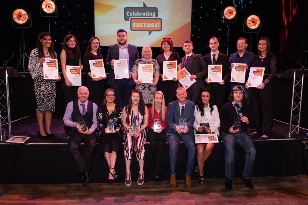 Employability award winners