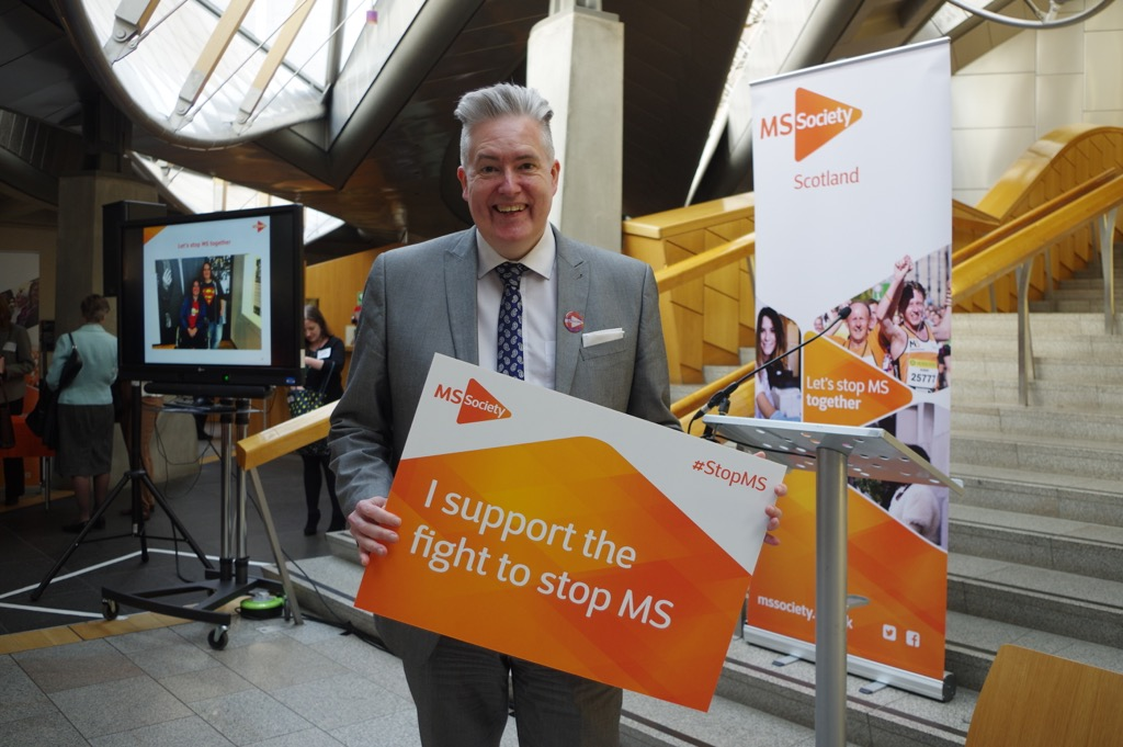 MSPs pledge to fight MS during MS Awareness Week
