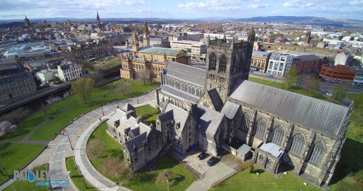 paisley abbey drone