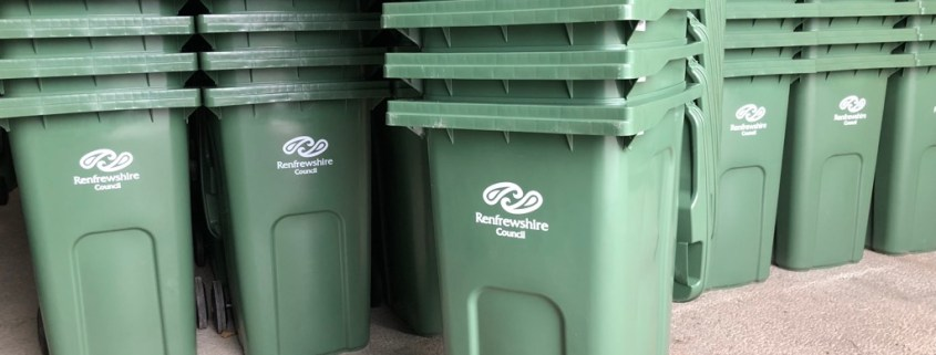 New recycling service set to start in Erskine - Paisley Scotland