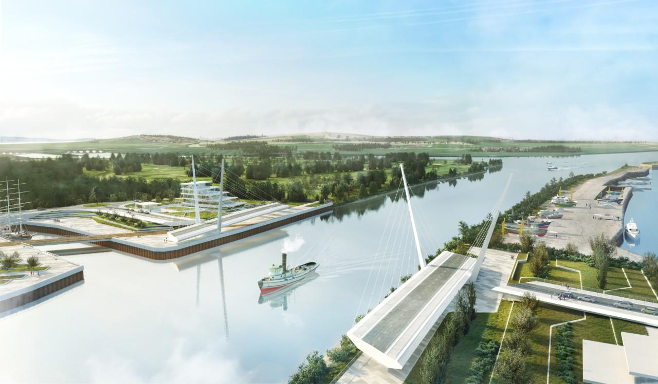 Clyde Waterfront Renfrew Riverside - Clyde bridge-2
