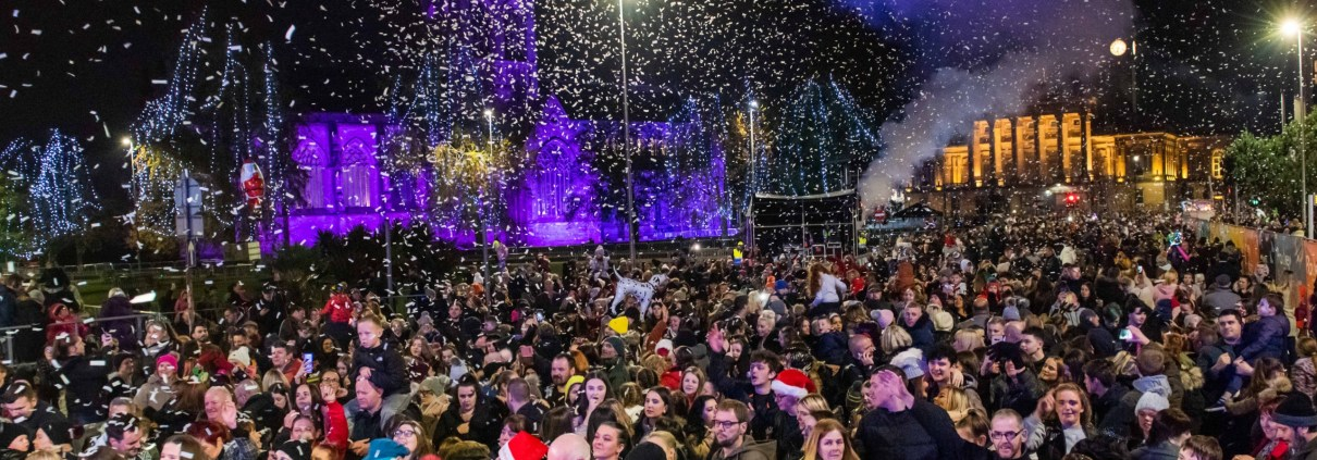 Paisley Christmas Lights 2019