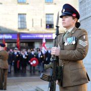 Paisley Cenotaph Remembrance Sunday Service