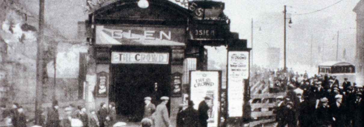 Entrance to Glen Cinema