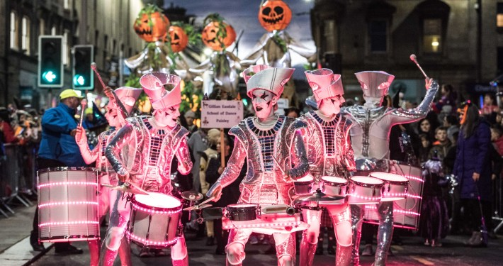 Paisley Halloween Festival - Copyright Chris Watt