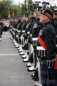 All in A Row,  at the Abbey and Town Hall, Argyll and Sutherland Highlanders_ 5SCOTS, Paisley, 2013