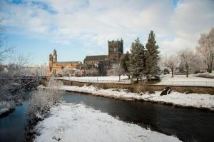 paisley town hall - paisley abbey