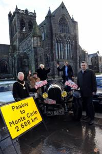 Monte Carlo Rally Paisley launch