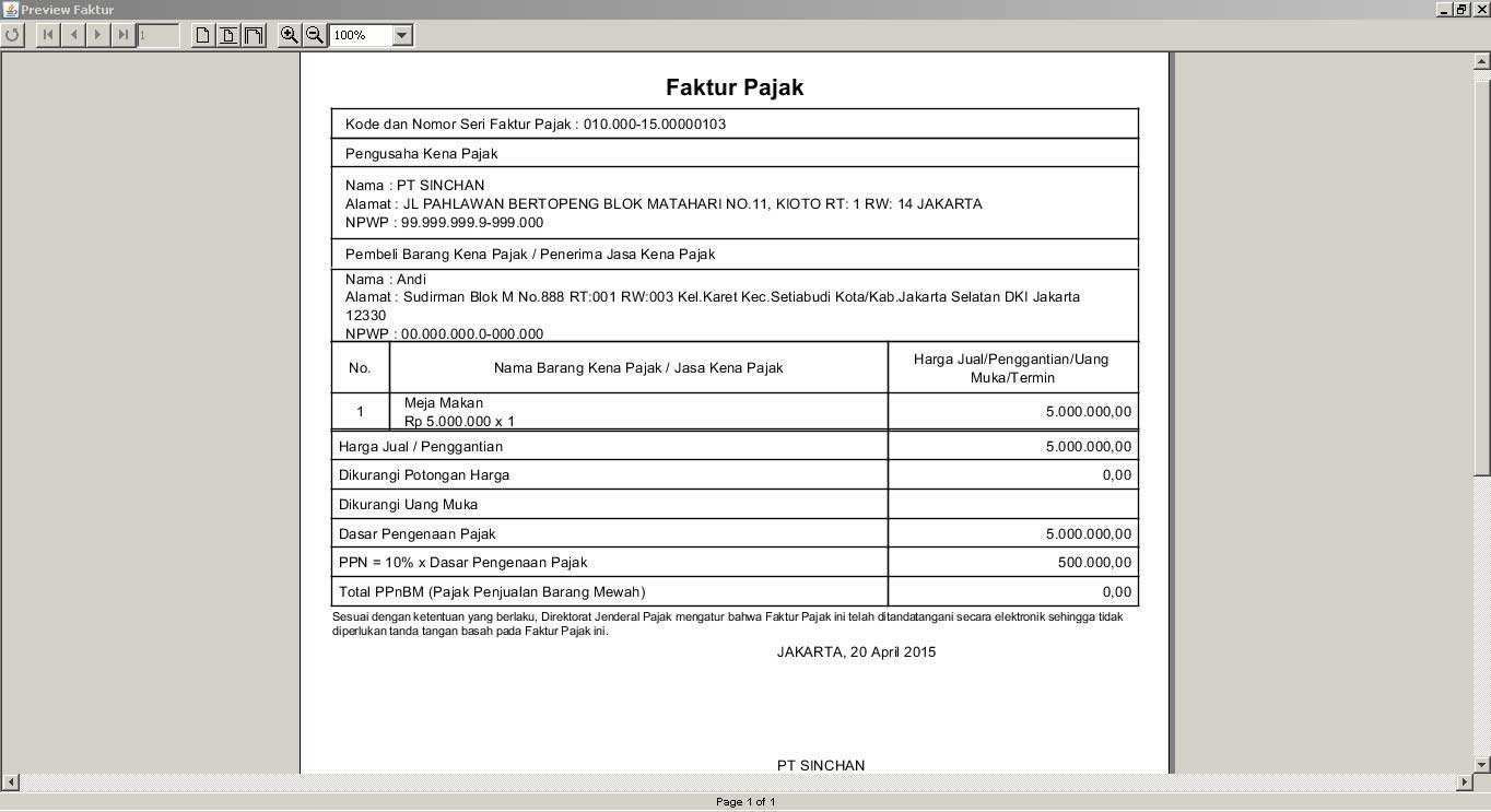 Cara Mudah Input Data Ke Dalam Aplikasi E Faktur Lewat Krishand Ppn