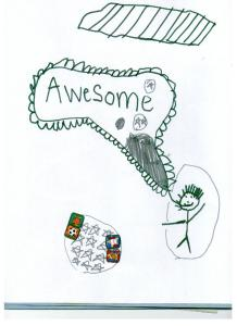 """Yoga is """"awesome""""!"""