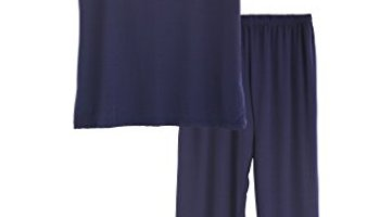 893a47e96 Latuza Women s V-Neck Sleepwear Short Sleeves Top With Pants Pajama Set