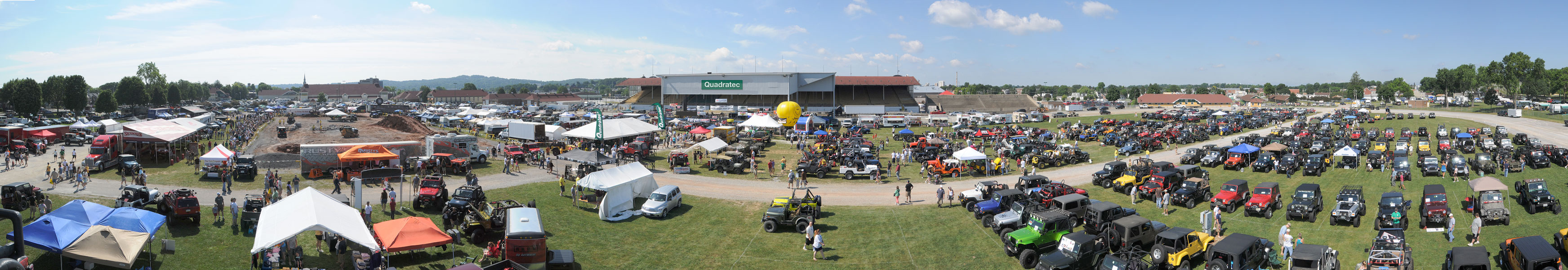 The 17th Annual All Breeds Jeep Show
