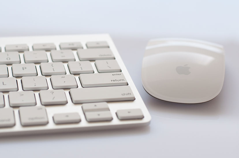 apple keyboard & magic mouse