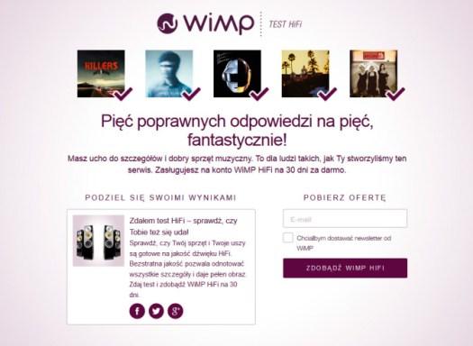 Wimp HiFi Test