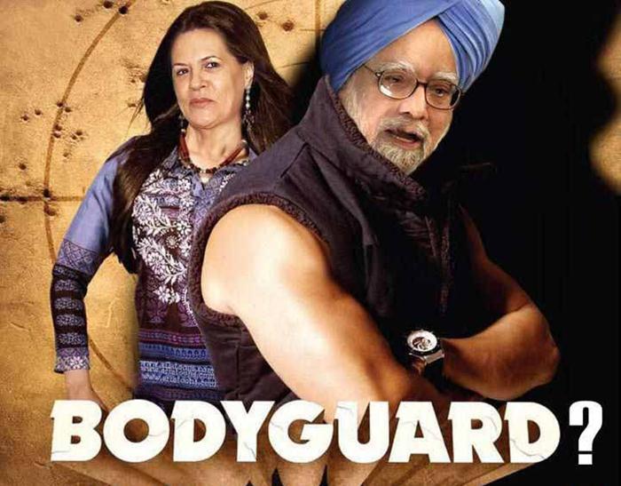 Funny Picture BodyGuard Movie Poster | Pak101.com