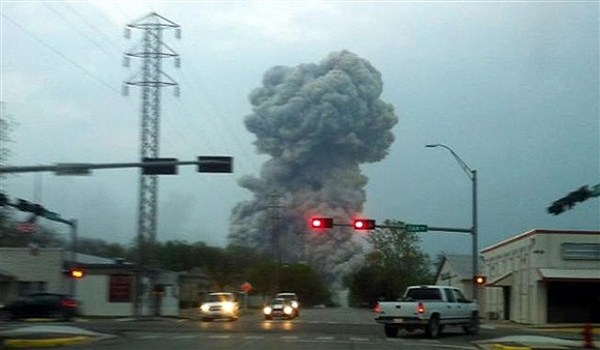 Another official drill goes live after Texas fertilizer plant explosion