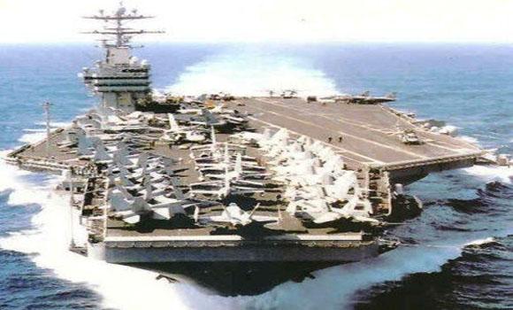 """Los buques de guerra estadounidenses y aliadas frente a la costa siria Naval de despliegue se decidió """"antes"""" del 21 de agosto de armas químicas Attack"""