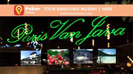 TOUR BANDUNG MURAH 1 HARI PAKARHOLDIAY BANDUNG