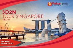 Paket Tour Singapore Murah Universal Studio 3D2N Plus Tiket Pesawat