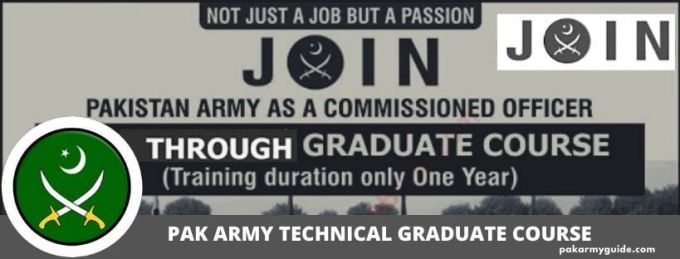 JOIN PAK ARMY GRADUATE COURSE