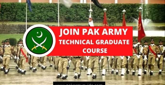 PAK ARMY TECHNICAL GRADUATE COURSE