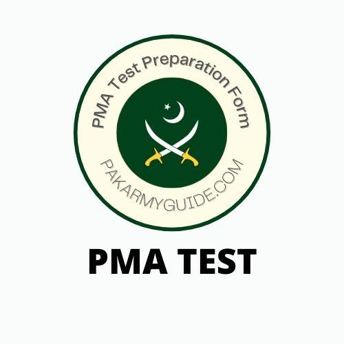 PMA Test Preparation Form