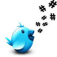 Pengertian Hash tag simbol # di twitter