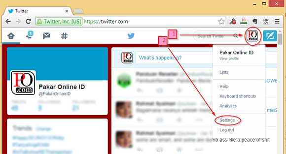 Cara Melindungi Tweet kita di Twitter