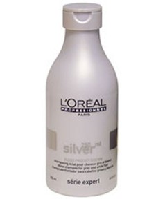 loreal serie expert gray or white hair silver gloss protect system shine shampoo pakcosmetics